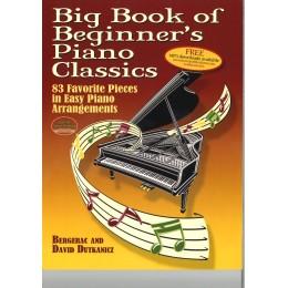 BIG BOOK OF BEGINNER`S PIANO CLASSICS 83 ИЗВЕСТНИ ПИЕСИ ЗА ПИАНО
