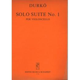 DURKO-SOLO SUITE- №.1 VIOLONCELLO
