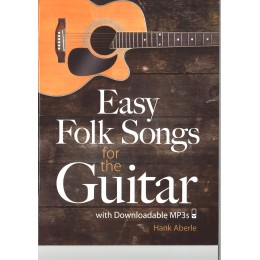 EASY FOLK SONGS FOR THE GUITAR WITH MP3