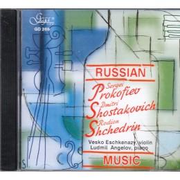 V. ESCHKENAZY - VIOLIN, L. ANGELOV - PIANO/RUSSIAN MUSIC
