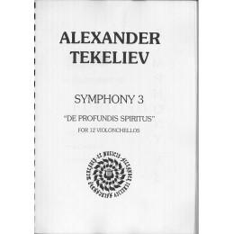 АЛЕКСАНДЪР ТЕКЕЛИЕВ СИМФОНИЯ 3 ЗА 12 ВИОЛОНЧЕЛА