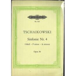ЧАЙКОВСКИ СИМФОНИЯ № 4 ОП. 36