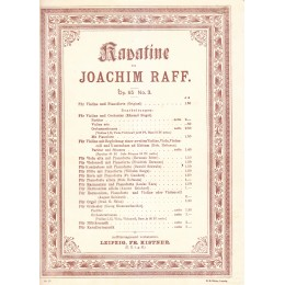 Й.РАФ-КАВАТИНА ОП.85