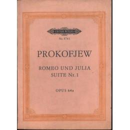 ПРОКОФИЕВ РОМЕО И ЖУЛИЕТА СЮИТА № 1 ОП. 64