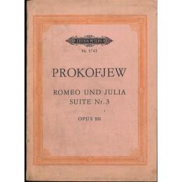 ПРОКОФИЕВ РОМЕО И ЖУЛИЕТА СЮИТА № 3 ОП. 101