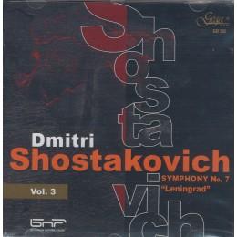 ШОСТАКОВИЧ СИМФОНИИ VOL.3