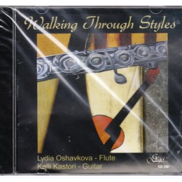 WALKING THROUGH STYLES- L.OSHAVKOVA-FLUTE, KASTORI